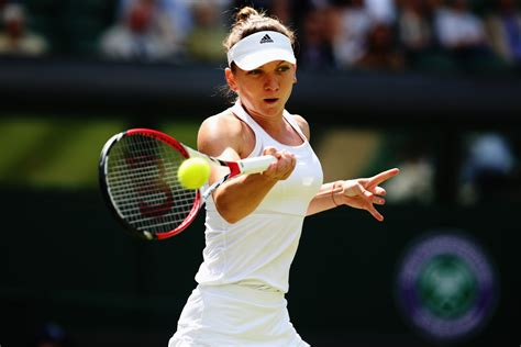 Eugenie Bouchard vs Simona Halep Wimbledon: Live Stream ...