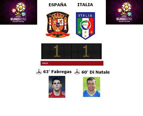 Eurocopa 2012 / España 1-1 Italia - Deportes - Taringa!