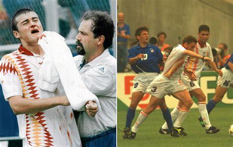 Eurocopa 2016: El codazo de Tassotti en el Mundial 94 ...