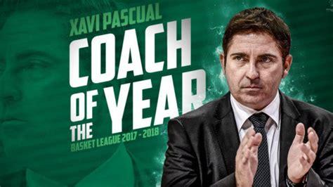 Euroliga 2018: Xavi Pascual, elegido mejor entrenador de ...