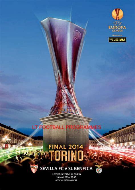EUROPA LEAGUE / UEFA CUP FINALS : LT Football Programmes