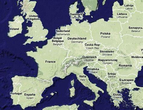 European Itineraries, Maps, and Photos