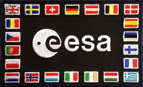 European Space Agency (ESA) shoulder patch - collectSPACE ...