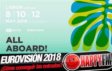 Eurovisión 2018   Entradas: ¿Cómo comprar las entradas ...