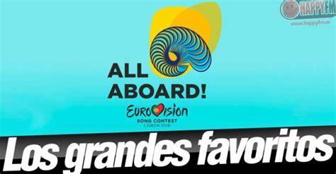 'Eurovisión 2018' - Los favoritos para ganar: Estos son ...