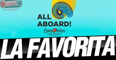 'Eurovisión': Favoritos para ganar: 'Eurovisión 2018 ...