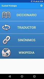 Euskal Hiztegia   Aplicaciones en Google Play