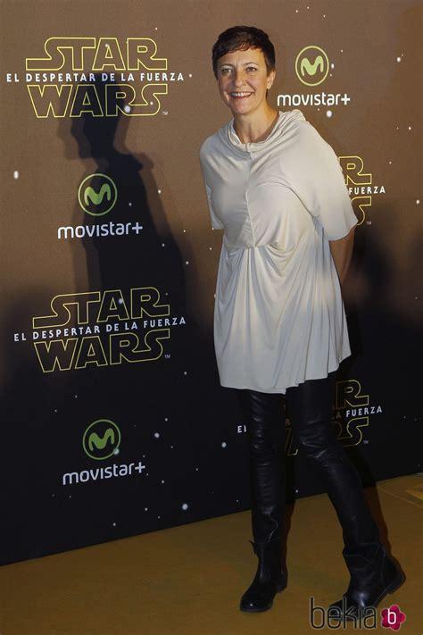 Eva Hache en el estreno de  Star Wars: El Despertar de la ...