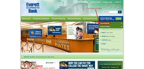 Everett Co Operative Bank Online Banking Login   CC Bank