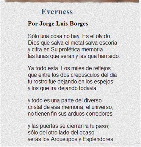 Everness, poema de Borges con su voz.