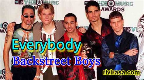 Everybody – Backstreet Boys – Rivirasa Entertainment