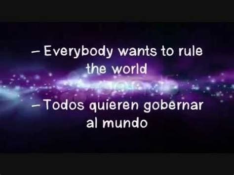 Everybody Wants to Rule the World Tears for Fears  letra ...