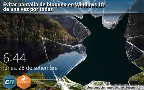 Evitar pantalla de bloqueo en Windows 10 de una vez por ...