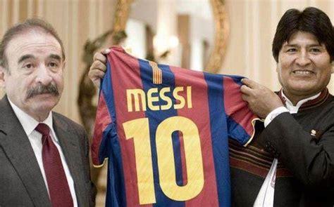 Evo Morales dice que es hincha de Real Madrid y Barcelona ...