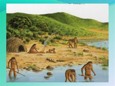 Evolución del Hombre y modo de vida en el Paleolítico y ...