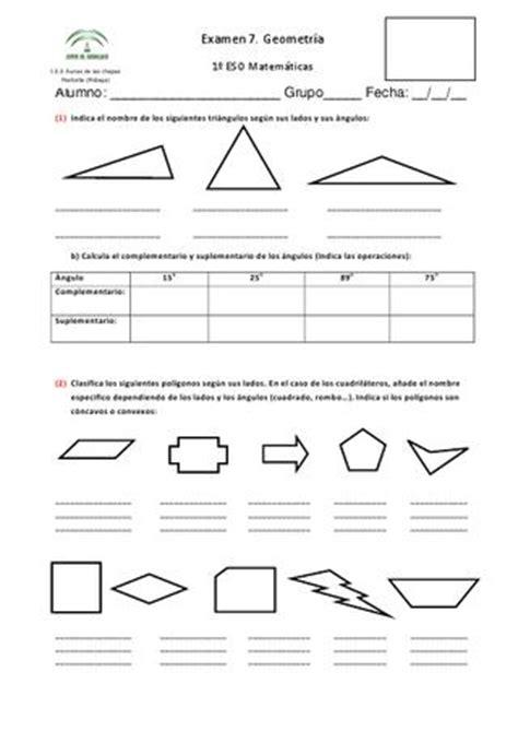 Examen 1 de la 3ª evaluación (Mat 1 ESO) by Maribel ...