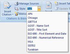example of apa citation in paper | Screen capture of APA ...