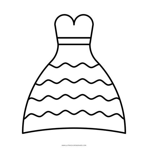 Excelente Vestidos De Novia Dibujo Festooning - Ideas de ...