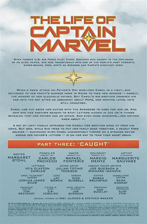 Exclusive Marvel PREVIEWS Prevue: The Life of Captain ...