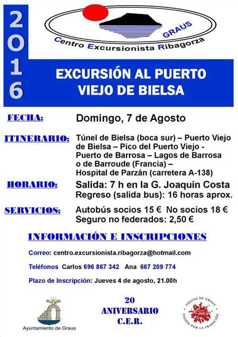 Excursión del CER al Puerto Viejo de Bielsa   Gente con ...