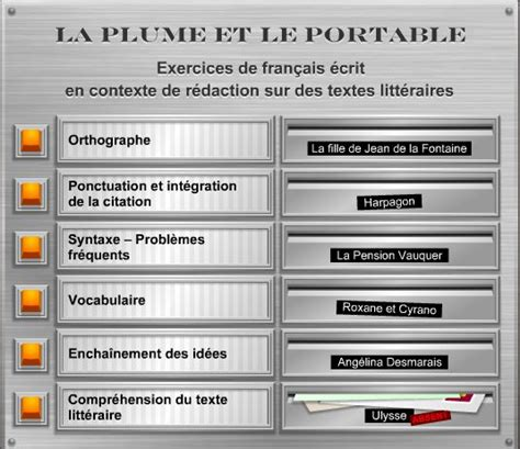 Exercices de rédaction écrite « Blog français IES