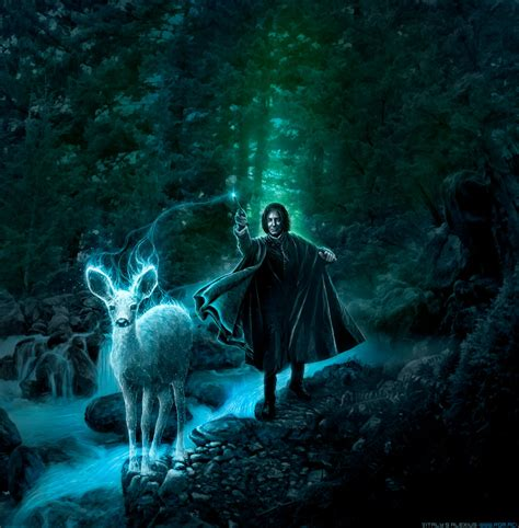 Expecto Patronum (RIP Alan Rickman) by alexiuss on DeviantArt