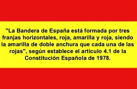 Explicación de la bandera de España   Bandera de España