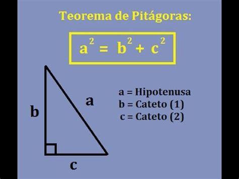 Explicación Matemática: Teorema de Pitágoras   YouTube