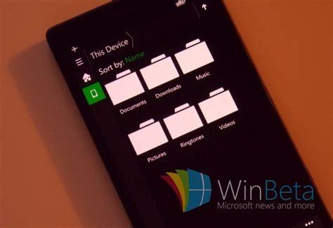 Explorador de archivos de Windows 10 para teléfonos