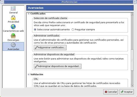 Exportar Certificado Digital de Mozilla/Firefox