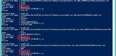 Exportar Los Drivers Que No Son De Windows 10 Instalados ...