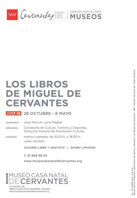 """Exposición """"Los libros de Miguel de Cervantes"""" – Amigos de ..."""