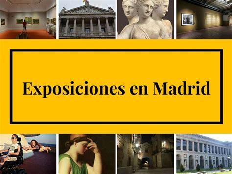 Exposiciones en Madrid, tercer trimestre de 2018 - Mirador ...