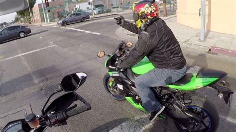 Extreme Motorcycle Rage + Crazy Guy | Doovi