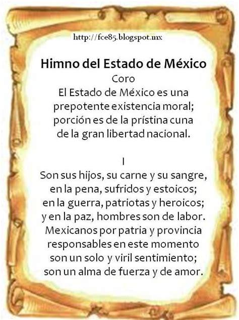 F. C. Y E.: HIMNO NACIONAL, HIMNO AL ESTADO Y JURAMENTO A ...