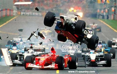 F1: Michael Schumacher crash compilation