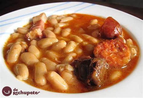 Fabada o Fabes. Receta tradicional asturiana   Receta ...