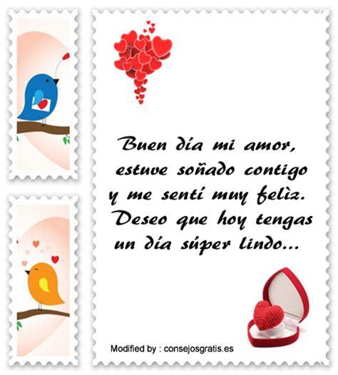 Fabulosas Frases De Buenos Dias Para Mi Amor ...