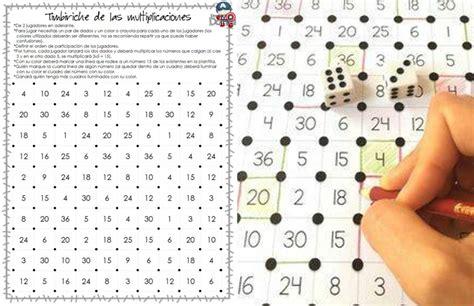 Fabuloso juego para aprender las tablas de multiplicar ...