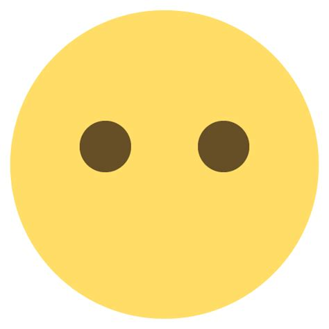 Face Without Mouth Emoji Emoticon Vector Icon   Free ...