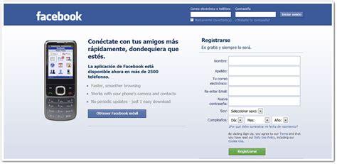 Facebook en español   Crear cuenta