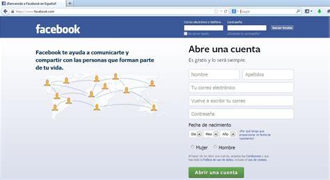 FACEBOOK en español + www.facebook.com iniciar sesion fecebook
