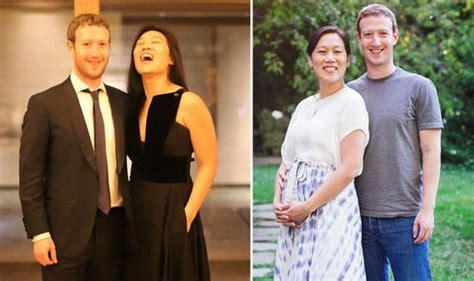 Facebook founder Mark Zuckerburg and wife Priscilla ...