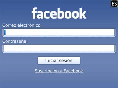 Facebook iniciar sesión en la red social   Preguntas ...