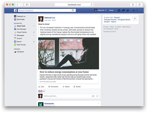 Facebook permitirá compartir citas y fragmentos de texto ...