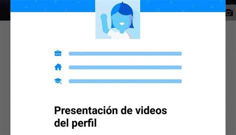 Facebook: ya puedes colocar un video como foto de perfil ...