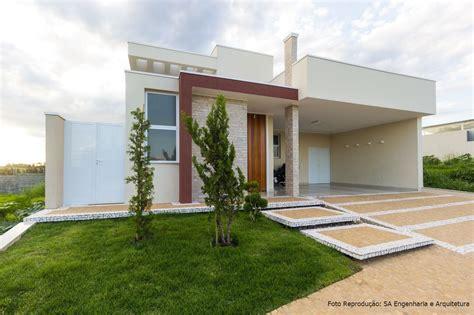 Fachada de Casas Simples e Modernas, +100 Fotos para Tirar ...