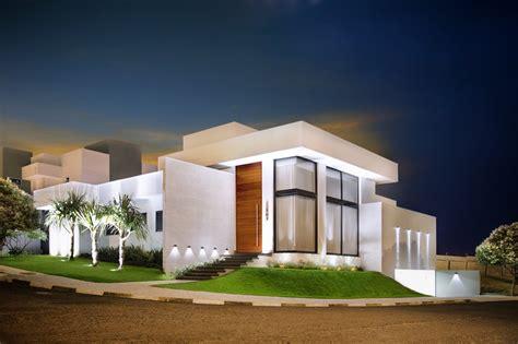 Fachadas de Casas Modernas: porcelanato na fachada