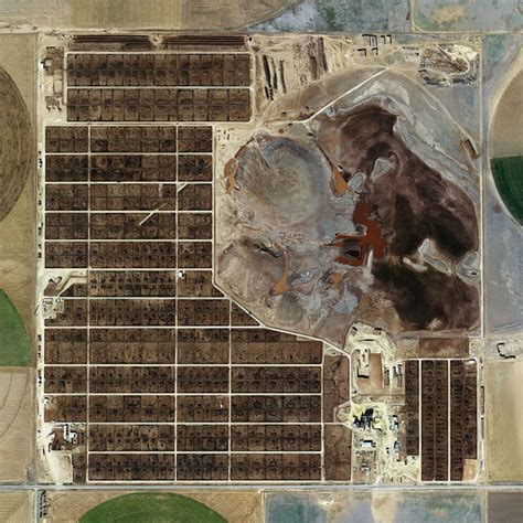 Factory Food From Above: Satellite Images of Industrial ...