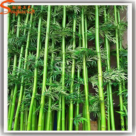 Factory price cheap wholesale artificial bamboo plants ...